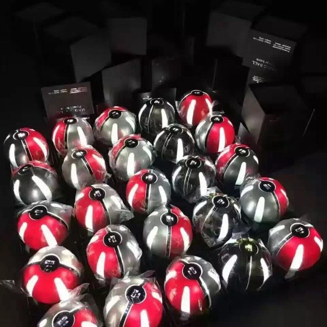 Pokeball Power Bank + Pokeball With 2 Jingle Bell Attached Keychain